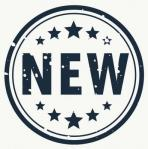 Nouveau badge etiquette timbre dans style gunge 1017 5630